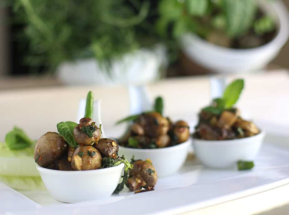 Minty Mushrooms