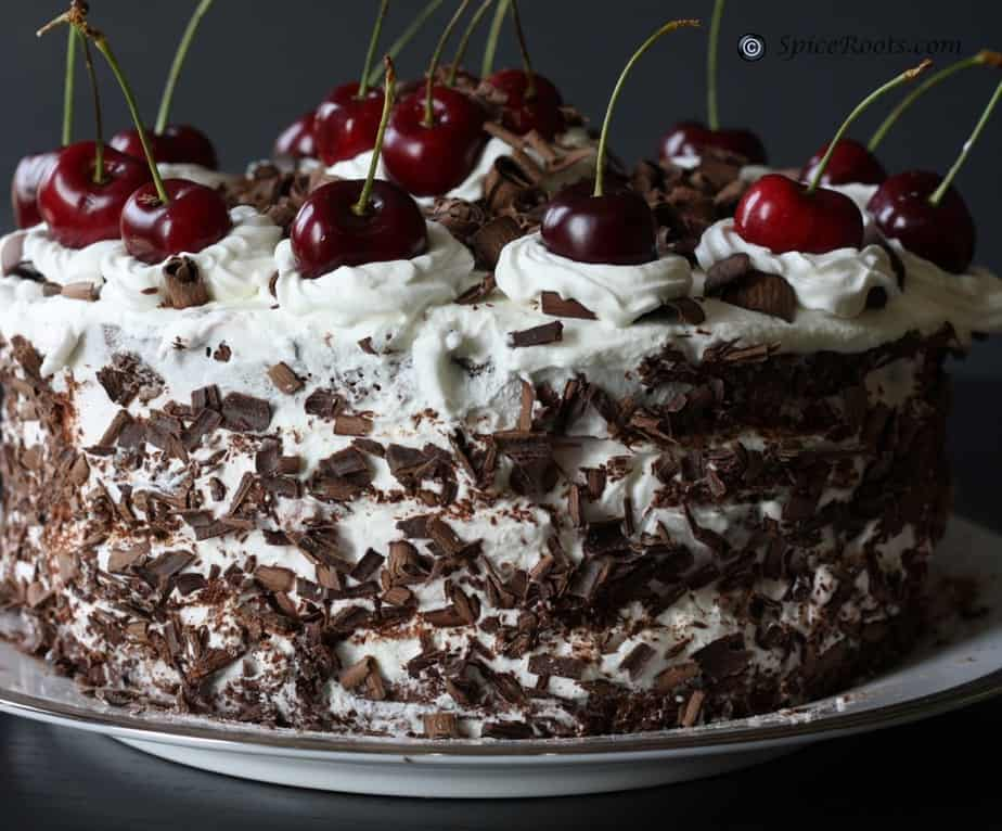 Black forest cake for Black forest torte recipe