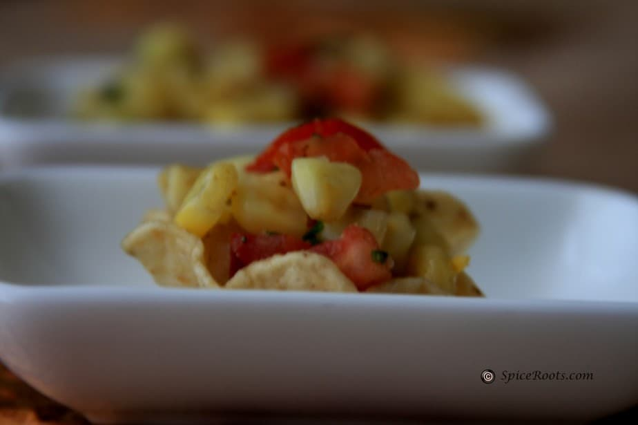 how to make sweet corn chaat