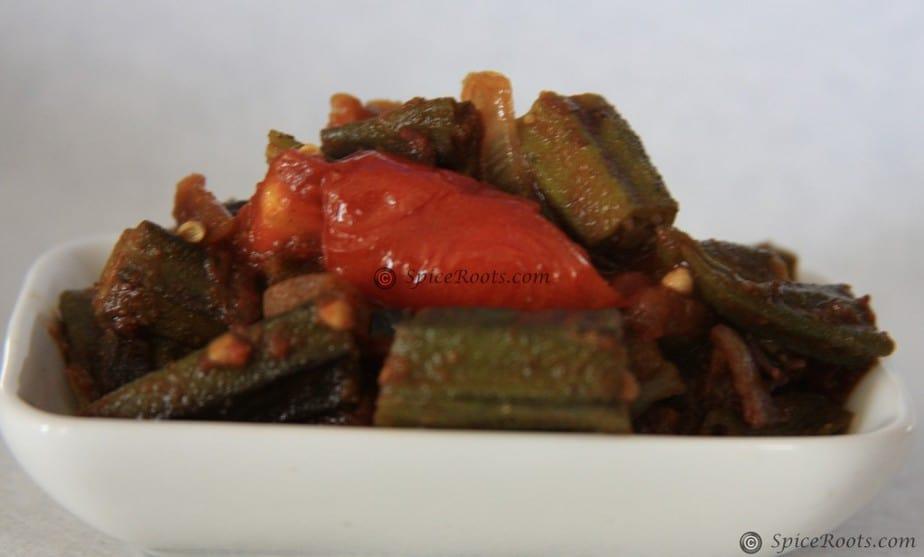 Masala Bhindi - Indian Style Okra