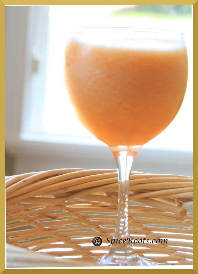 Cantaloupe cooler