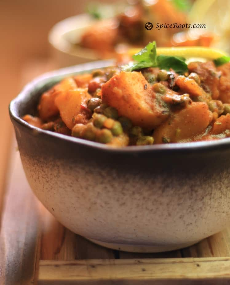 Aloo Matar Peas And Potato Curry