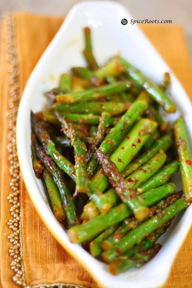 asparagus Indian style