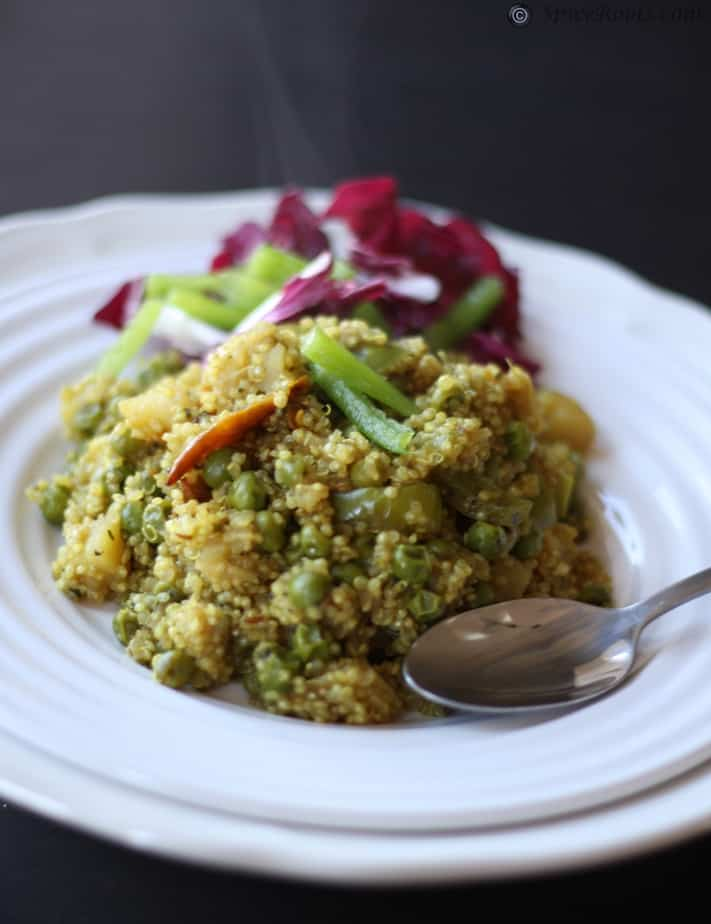Quinoa Pulav – 38 power foods