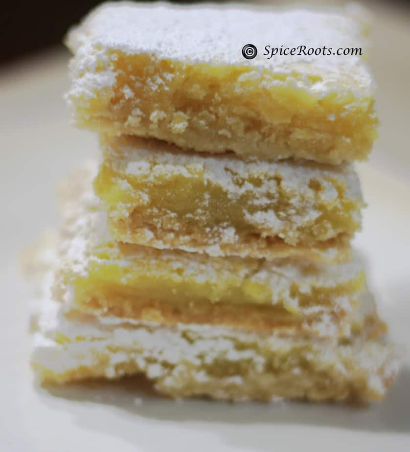 The Lemony Lemon Bars