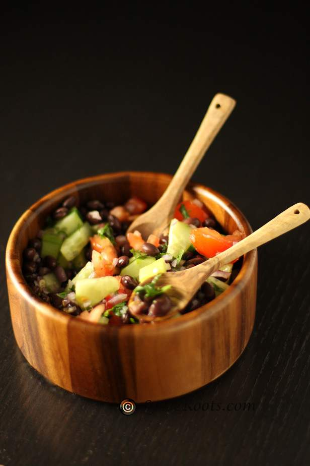 Black Bean & Cucumber Salsa