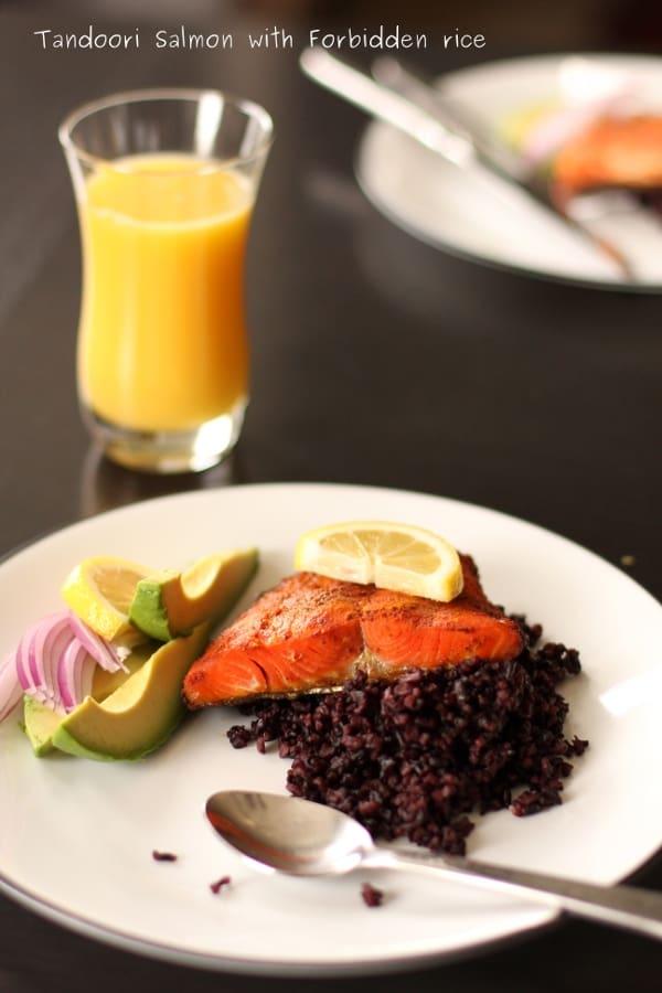 Tandoori spiced Salmon