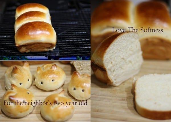 Tangzong Method bread