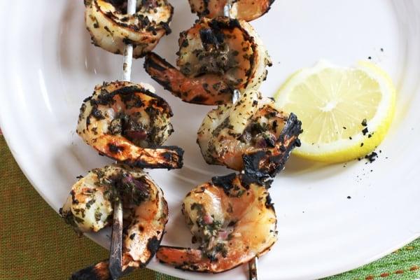 Grilled Herb Shrimp