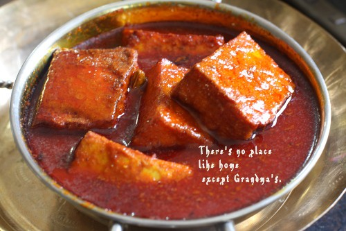 Wozij Chaaman – Paneer cooked in Spices