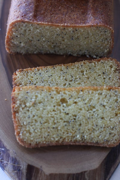 Orange and Poppy Seed  quick Bread