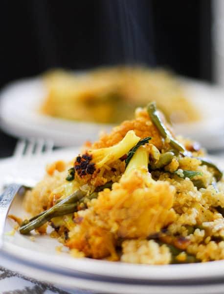 vegan Quinoa Biryani