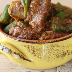 Bhindi Gosht - Meat with Okra