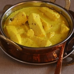 Chaman Kaliya - Cardamom and fennel scented Paneer