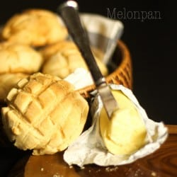 Melonpan - Cookie Covered Bread Rolls