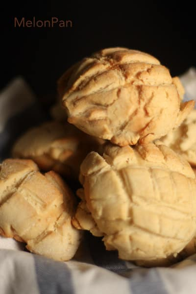 Melonpan – Cookie Covered Bread Rolls