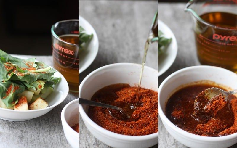 Kohlrabi pickle