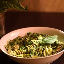 Pasta Pesto and Pea Salad - Ina Fridays