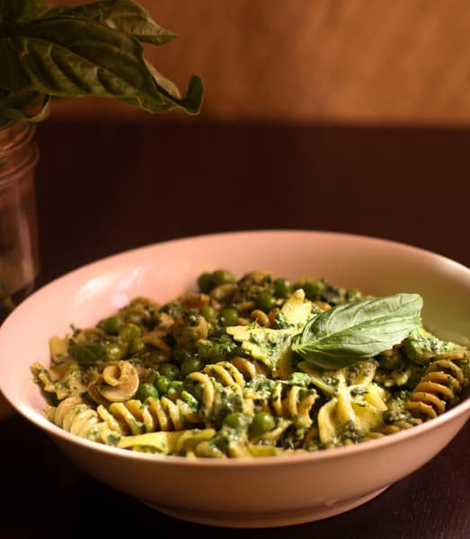 Pasta Pesto and Pea Salad – Ina Firdays