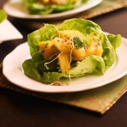 Pineapple Avocado and Pink Grapefruit Salad