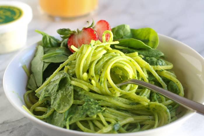 Spinach pasta-2