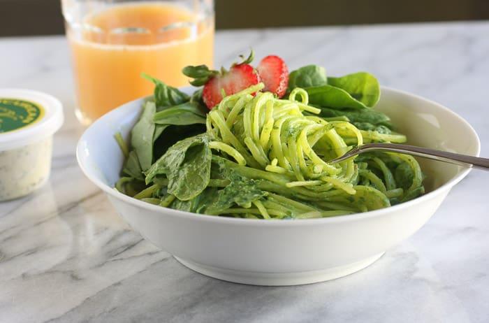 Spinach pasta-3