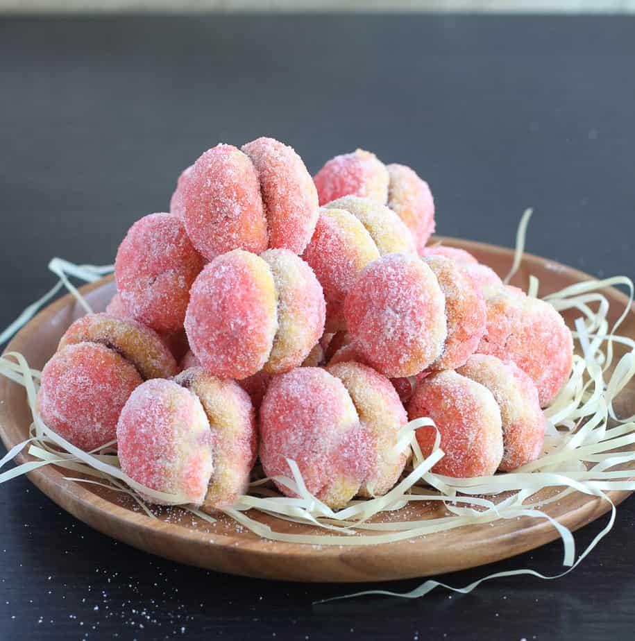 Breksvice- Peach cookies
