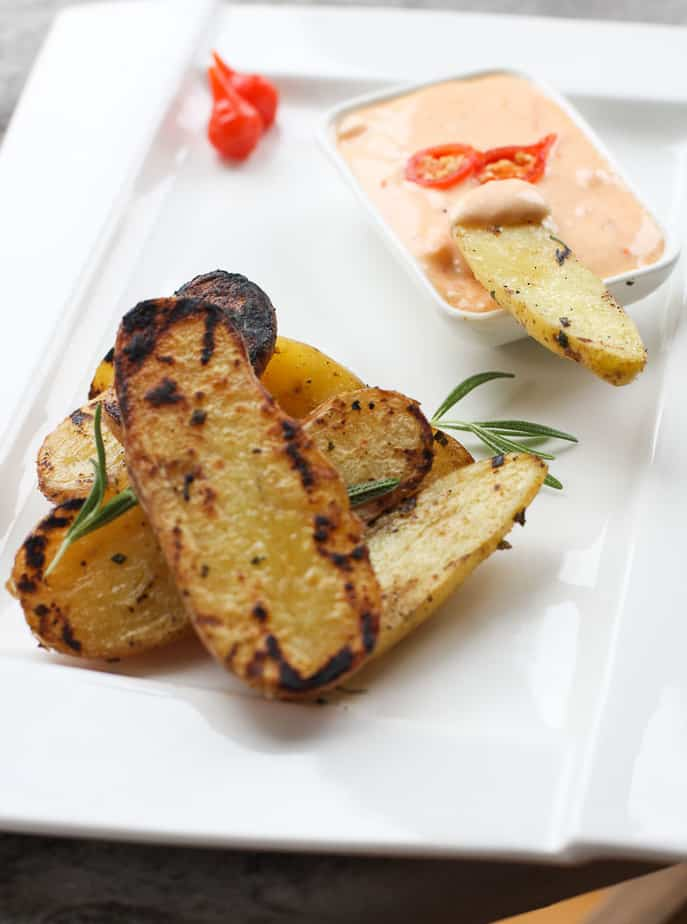 Grilled Rosemary potatoes-5