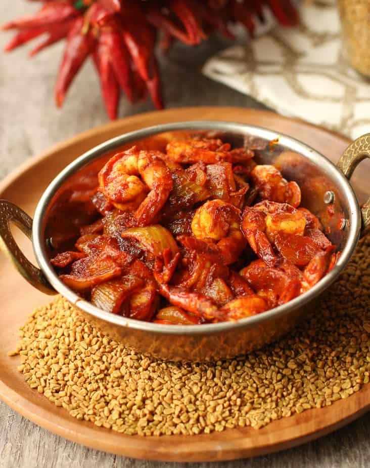 Chilka fishermen's Prawn curry