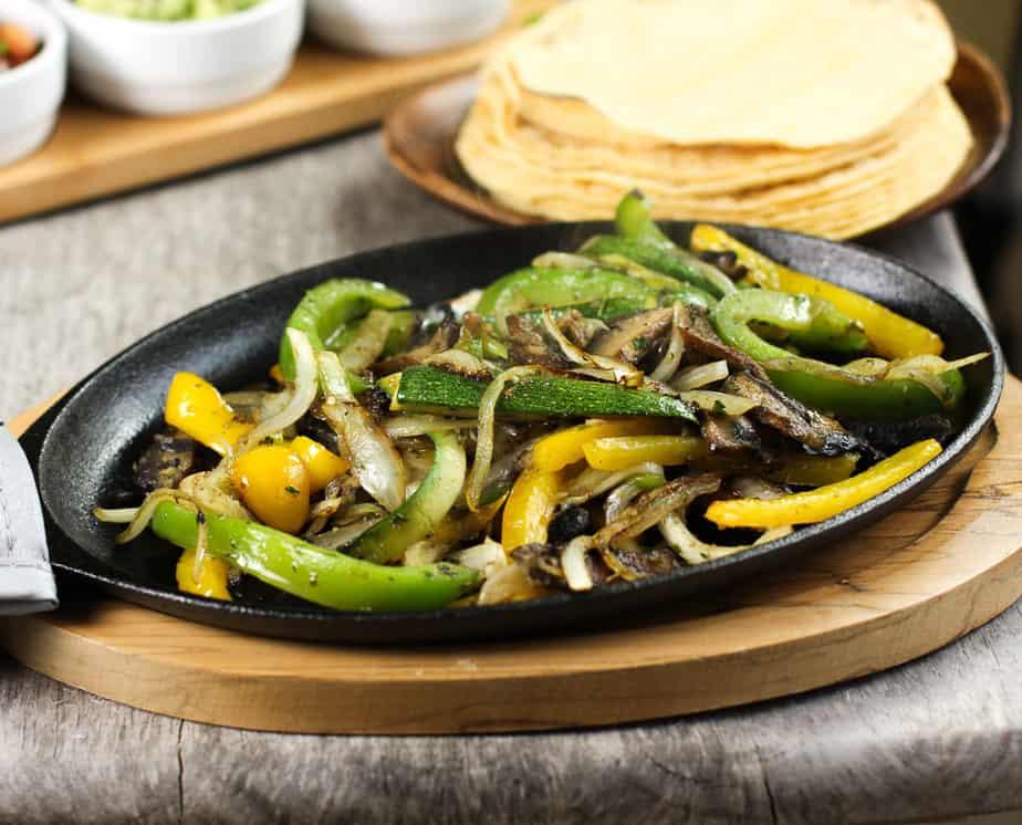 Vegetable Fajita