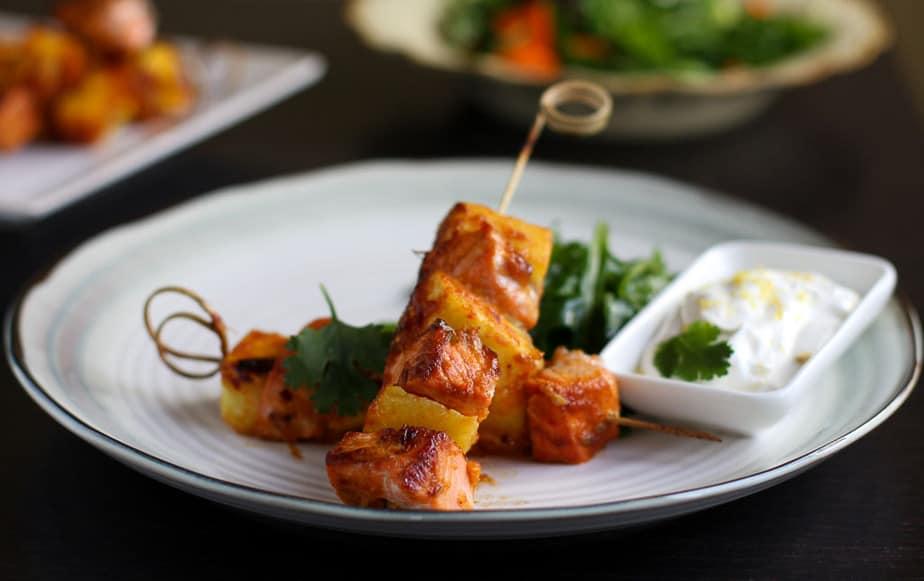 salmon and pineapple kebabs-3