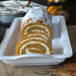 Pumpkin Roll - Let's do pumpkin a little differently!