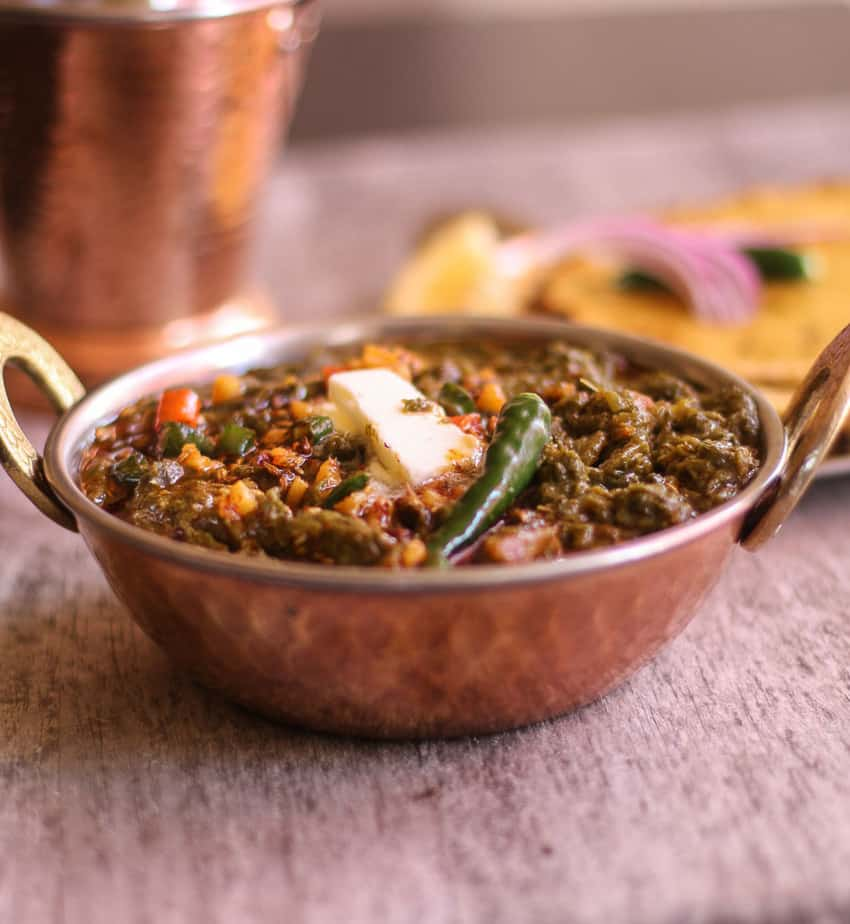 Sarson Ka Saag #Meatless Monday