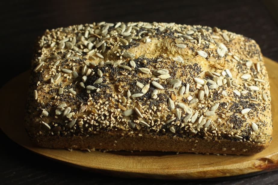 quinoa and millet bread