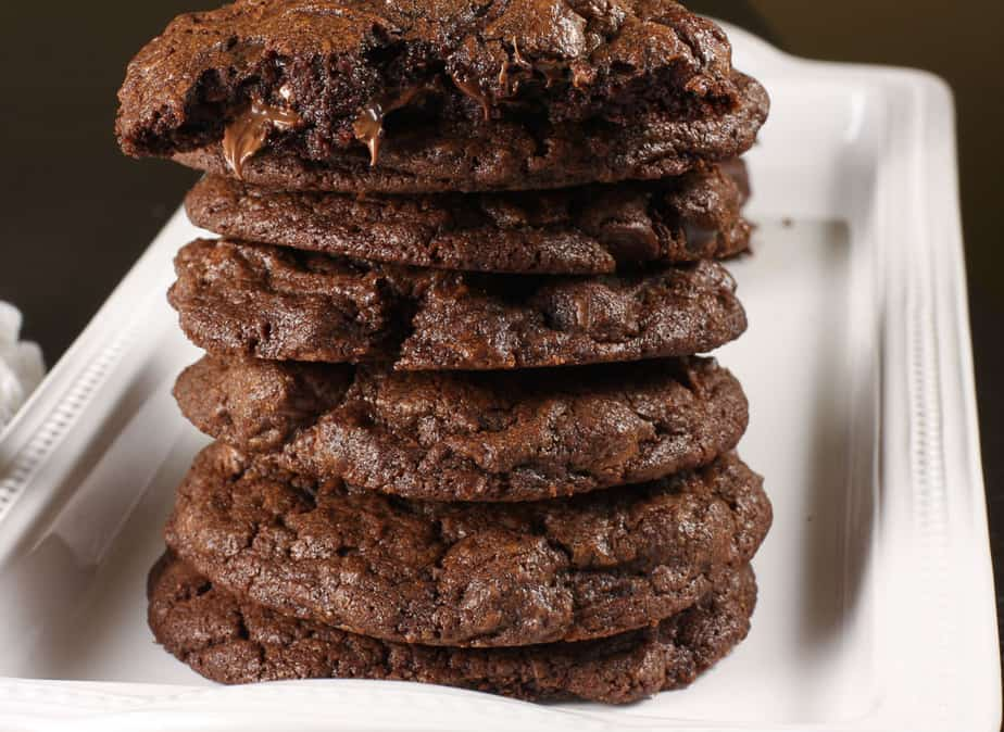 Double Chocolate chip cookies-3