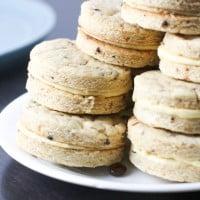 Coffee and Irish cream Sandwich cookies