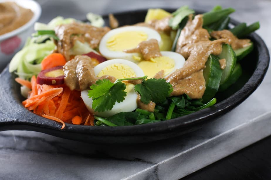 Gado Gado – Indonesian Vegetable Salad