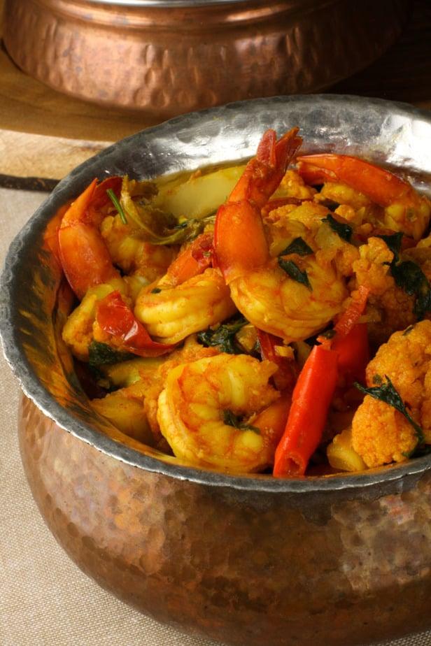 Shrimp and Cauliflower