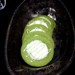 Matcha and White Chocolate Cookies #Creative Cookie Exchange