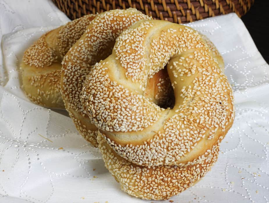 Simit - Turkish Ring Bread