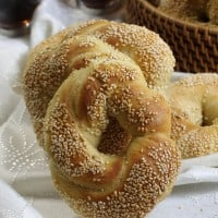 Simit-turkish ring bread