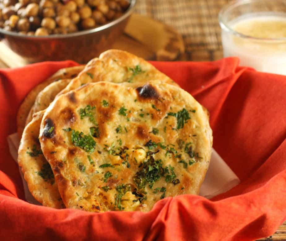 Paneer Kulcha #BreadBakers