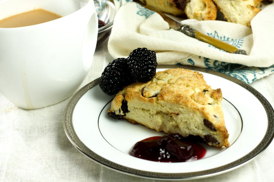 Cherry and Chocolate Chip Scones #Creative Cookie Exchange