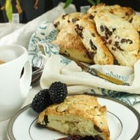 Cherry and Chocolate chip Scones