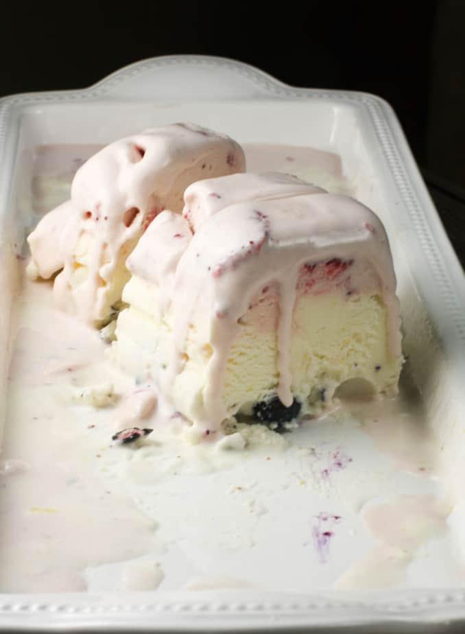 cassata ice-cream cake