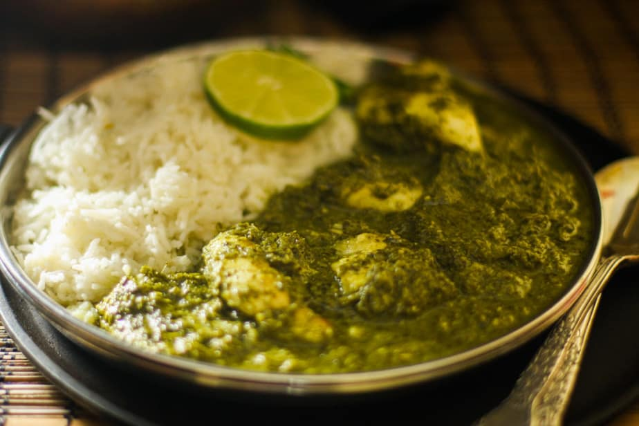 Methi Machli - Fish with Fenugreek sauce