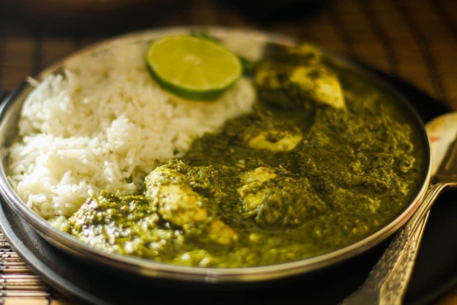 Methi Machli - Fish with Fenugreek sauce
