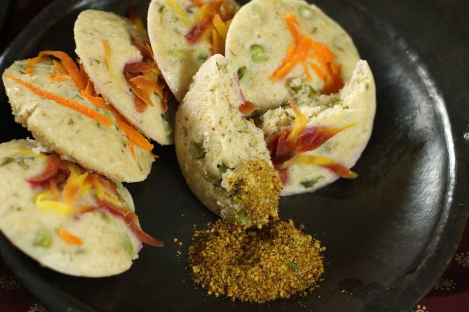 Oats and Millet idli