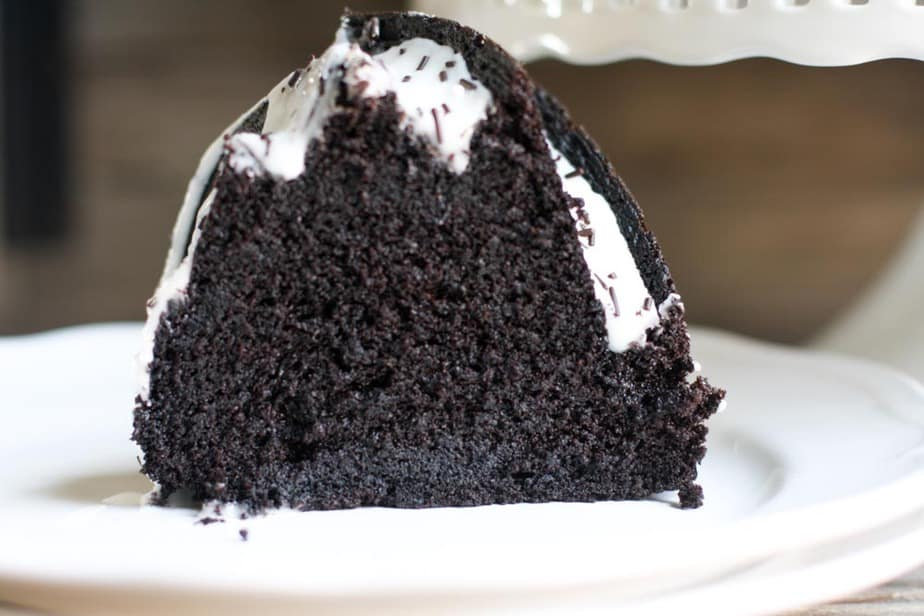 Chocolate Sprinkles Sour Cream Bundt Cake