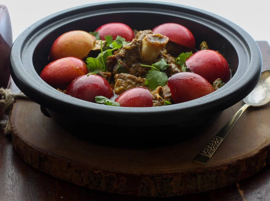 Lamb and Fresh Plum Tagine